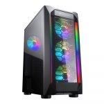 Case Gaming Cougar MX410-G RGB Media Torre Vidrio Templado ATX (Sin Fuente)