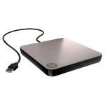HP Unidad de DVD-RW, USB 2.0 Externo Negro