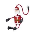 Steren Multicontacto de 4 Salidas Flexibles en Forma de Santa Claus