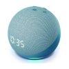 Amazon Echo Dot 4th Gen con Reloj, Alexa color Azul