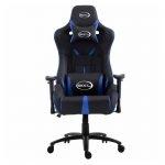 BROCS BR182 Silla Gaming Respaldo Reclinable Negro/Azul