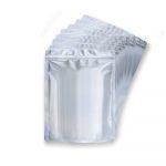 Origami Bolsas Santd Up metalizadas/brillante con zipper 250g Paquete 50