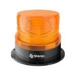 Steren Luz LED Ámbar Estrobo para Alarmas