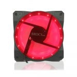 Brocs Ventilador 120mm LED Rojo