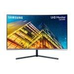"""Samsung Monitor Curvo UHD de 32"""" UR59C con Mil Millones de colores."""