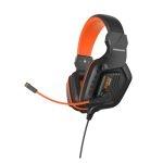 Magnavox MGA3119 Audífonos Gaming Alámbricos Jack 3.5mm Negro/Naranja