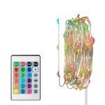 Steren Serie Led Multicolor RGB de 2 Mts con Modulo para Baterías y Control Remoto