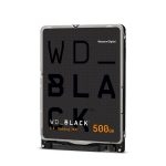 """Western Digital Disco Duro Interno para Laptop de 500GB WD Black 7200RPM 2.5"""""""