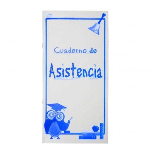 Fast Cuaderno para Asistencia Largo 14 Hojas para 52 Alumnos
