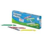 Fast Fastener Plástico Caja de 50 Unidades Colores Surtidos