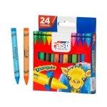 Fast Crayón de Cera T124 Triangular 24 Colores Regular