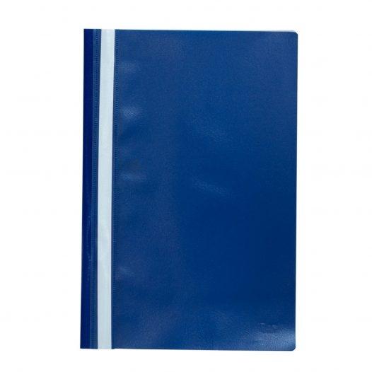 Fast Folder Plástico Tamaño Oficio Azul
