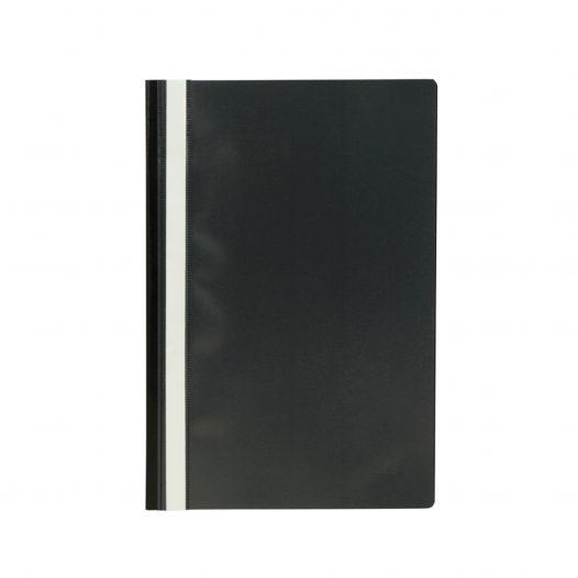 Fast Folder Plástico Tamaño Oficio Negro