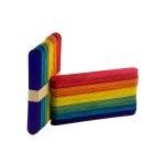 Fast Paletas Delgadas de Madera BX100 Multicolores