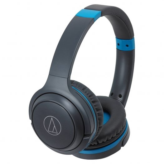 Audio Technica ATH Audifono Bluetooth Azul S200BTGBL