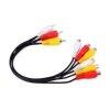 Smartec Splitter de cables RCA macho a Hembra 30cm