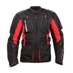 BlackBike Chumpa Touring 4S Negro/Rojo Talla XL